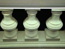 Elementos arquitetónicos da balaustrada Imagens de Stock Royalty Free