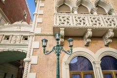Elementos arquitetónicos italianos Fotografia de Stock