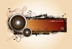 Elementos audios Foto de archivo