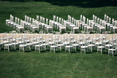 Elementos bonitos da decoração do projeto da cerimônia de casamento com flores frescas composição, design floral, rosas das pétal Imagem de Stock Royalty Free
