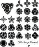 Elementos célticos del diseño ilustración del vector
