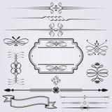 Elementos caligráficos Libre Illustration