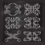 Elementos caligráficos del diseño del vector Fotografía de archivo libre de regalías