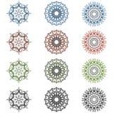 Elementos caligráficos luxuosos Imagem de Stock Royalty Free