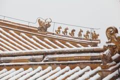 Elementos chinos Fotografía de archivo libre de regalías