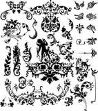 Elementos clásicos del diseño ilustración del vector