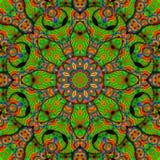 8 elementos colorearon el caleidoscopio Imagen de archivo libre de regalías