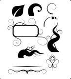 Elementos comunes libres del diseño de la ilustración de los derechos Fotografía de archivo
