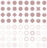 Elementos contemporâneos Imagem de Stock