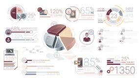 Elementos corporativos de Infographic con Alpha Channel libre illustration