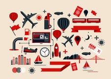 Elementos creativos del transporte Fotografía de archivo