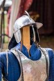 Elementos da armadura imagens de stock