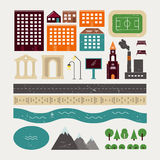 Elementos da arquitetura da cidade Fotografia de Stock