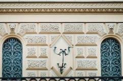 Elementos da arquitetura hist?rica, close-up foto de stock royalty free