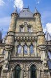 Elementos da arquitetura no estilo gótico Fotografia de Stock Royalty Free