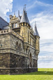 Elementos da arquitetura no estilo gótico Foto de Stock