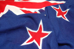 Elementos da bandeira de NZ imagens de stock