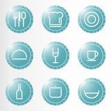 Elementos da cozinha Foto de Stock Royalty Free