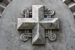Elementos da decora??o de monumentos de pedra antigos imagens de stock
