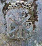 Elementos da decora??o de monumentos de pedra antigos foto de stock