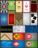 Elementos da disposição Imagem de Stock Royalty Free