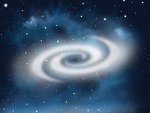 Elementos da galáxia do espaço livre, cartaz abstrato do negócio da qualidade super ilustração do vetor