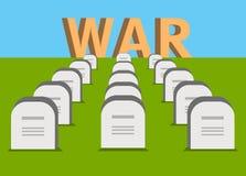 Elementos da guerra Imagens de Stock