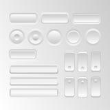 Elementos da interface de utilizador do vetor Foto de Stock Royalty Free