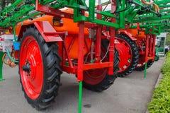 Elementos da maquinaria agrícola foto de stock