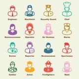 Elementos da ocupação ilustração royalty free