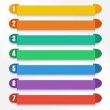 Elementos da opção do vetor. EPS10 Foto de Stock Royalty Free