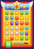 Elementos da relação do jogo Imagem de Stock Royalty Free