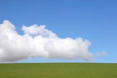 Elementos das nuvens, do céu e da terra imagem de stock royalty free