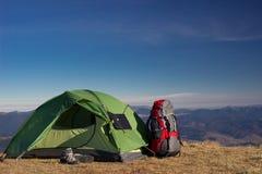 Elementos de acampamento fotos de stock royalty free