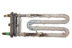 Elementos de calefacción de la corrosión del calentador de agua imagen de archivo libre de regalías