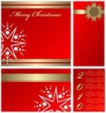 Elementos de Christmass Foto de archivo