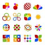 Elementos de color. Foto de archivo libre de regalías