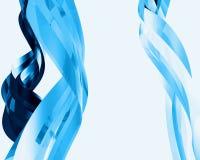 Elementos de cristal abstractos 017 Foto de archivo libre de regalías