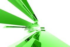Elementos de cristal abstractos 038 ilustración del vector