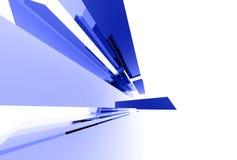 Elementos de cristal abstractos 040 Fotografía de archivo libre de regalías