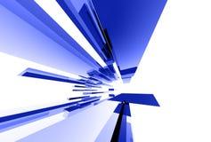 Elementos de cristal abstractos 043 ilustración del vector