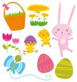Elementos de Easter Imagens de Stock