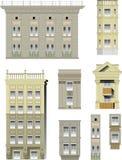 Elementos de edifícios clássicos ilustração do vetor