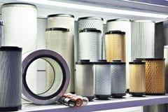 Elementos de filtro para o gás industrial e de óleo fotos de stock royalty free