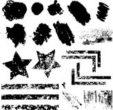 Elementos de Grunge stock de ilustración