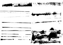 Elementos de Grunge Fotografía de archivo