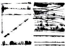 Elementos de Grunge Fotografía de archivo libre de regalías