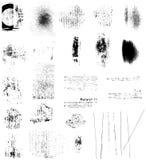Elementos de Grunge Imagenes de archivo