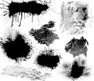 Elementos de Grunge Fotos de archivo