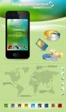Elementos de Infographic Imagem de Stock